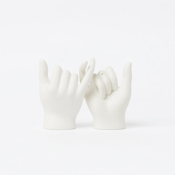 Tableware - DOIY Pinky Swear Salt & Pepper Shakers