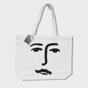 Tote Bag - James Wilson Face Tote Bag