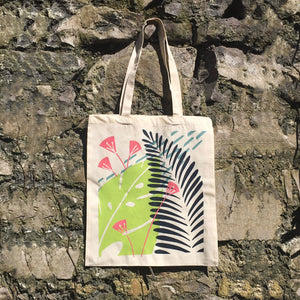 Tote Bag - Screen Printed Tote Bag By Eleanor Hardiman