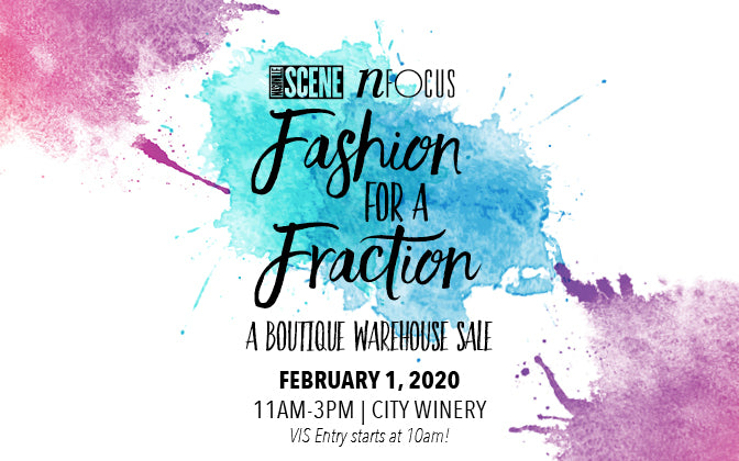 Fashion For A Fraction at City Winery