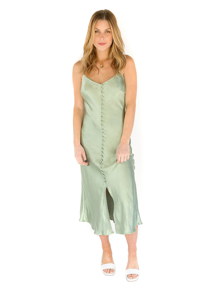 LUCY PARIS | Leonie Slip Dress