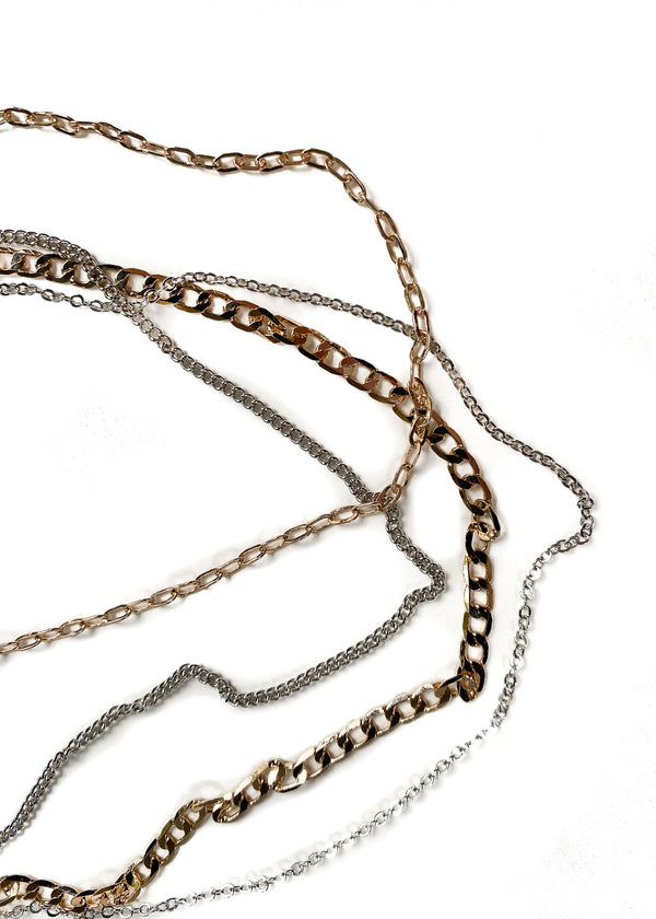 8 OTHER REASONS | Rhi Choker Set in Gold + Silver