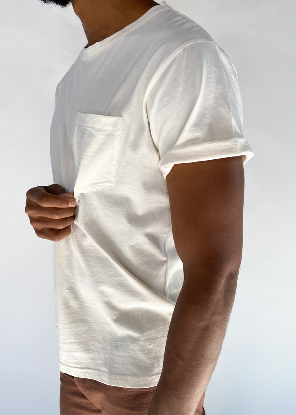 BRIDGE & BURN | Men's Premium Tee in Ivory