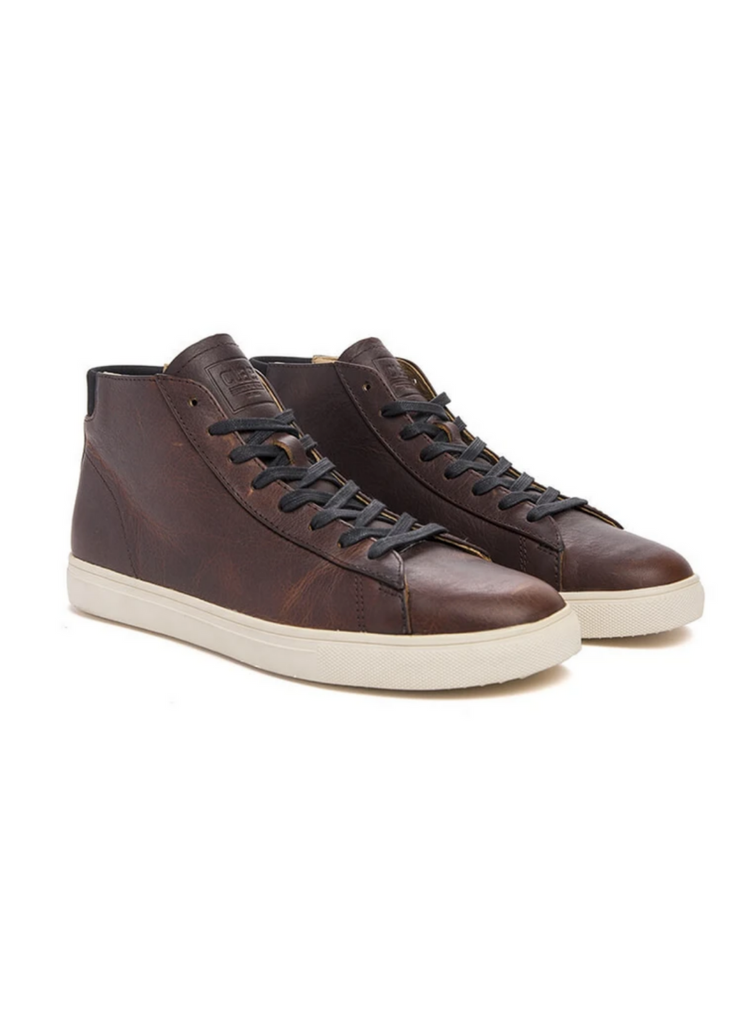 CLAE | Bradley Mid Cocoa Leather