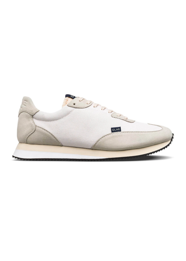 CLAE | Runyon White + Cream Sneaker