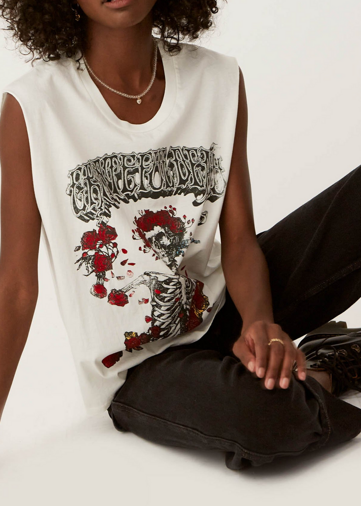 DAYDREAMER | Grateful Dead Bertha Rocker Muscle Tank