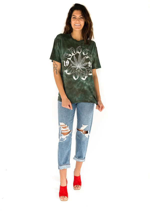 snoop dog green oversized t shirt