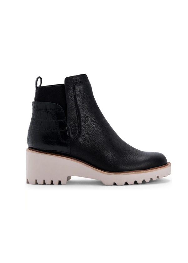 DOLCE VITA | Huey Booties in Black