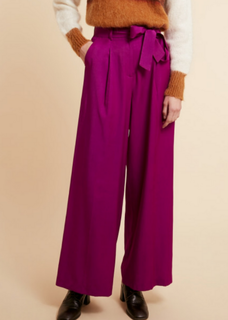 FRNCH | Parvedy Pants in Violet
