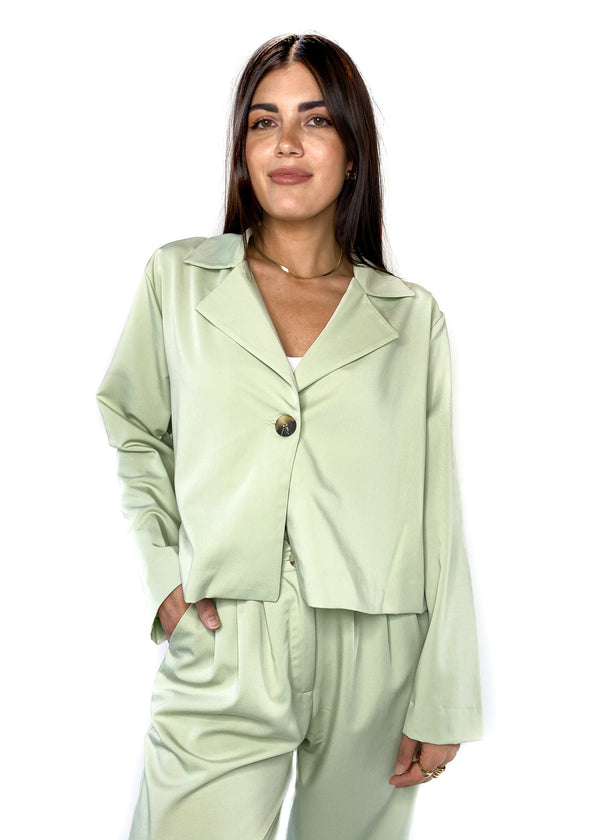 NATIVE YOUTH | Neroli Blazer in Sage