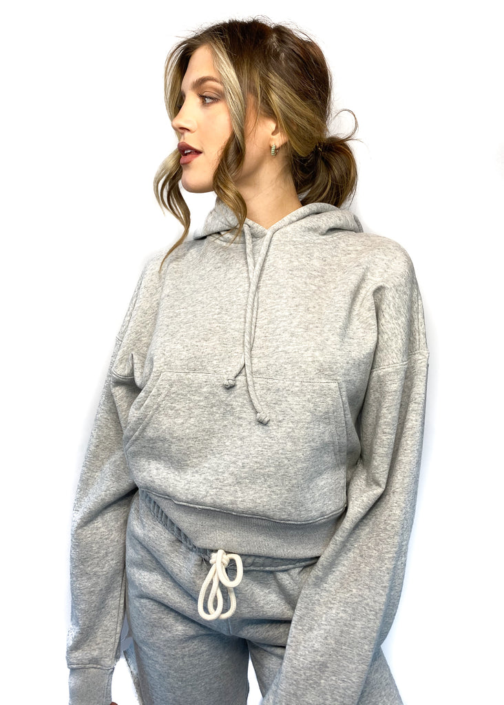 NIA | Boxy Sweatshirt in Grey