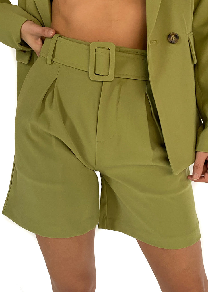 SAGE THE LABEL | Candice Shorts in Olive