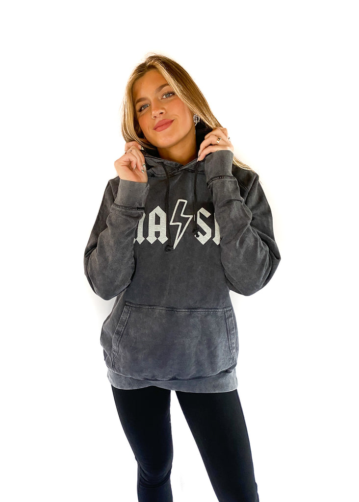 NASH COLLECTION | Vintage Wash Classic Rock Hoodie