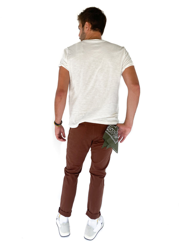 DL 1961 | Duke Tailored Chino in Pinecone