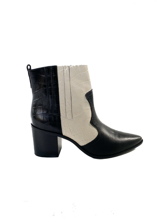 KAANAS | Sicily Color-Block Texan Bootie