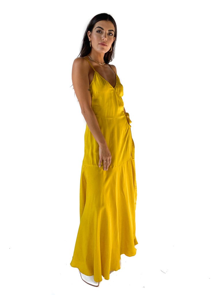 FRNCH | Alika Woven Dress in Yellow