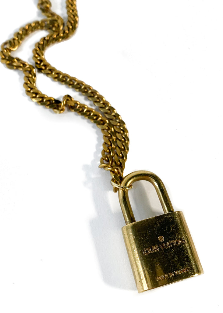 MARY KATHRYN DESIGN | Louis Vuitton Vintage Lock Necklace