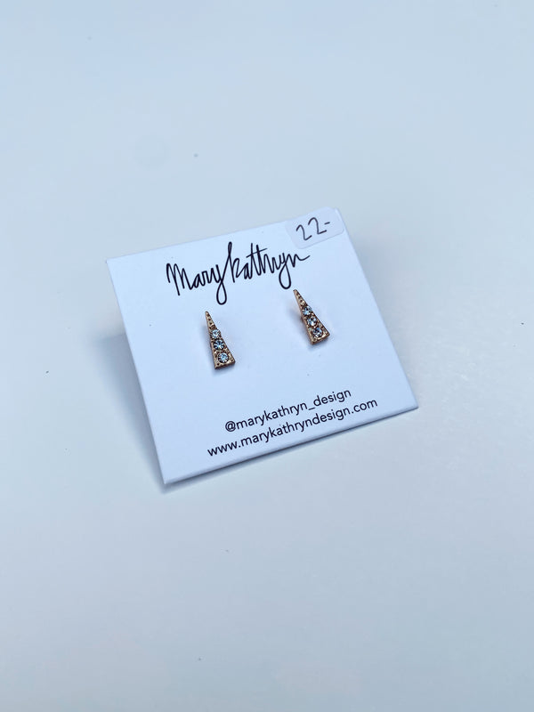 Mary Kathryn | Sparkle Dagger Earrings