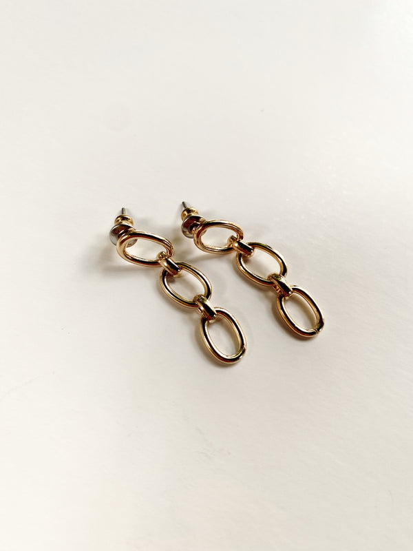 Mary Kathryn | Chain Drop Earrings