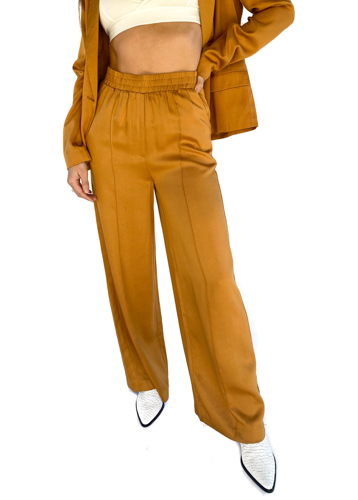 FRNCH | Palmina Woven Pant In Mustard