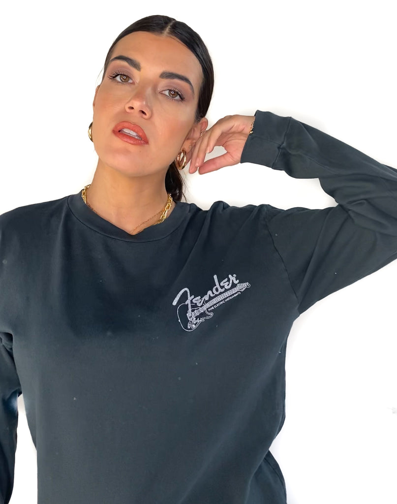 DAYDREAMER | Fender The Sound Long Sleeve In Vintage Black