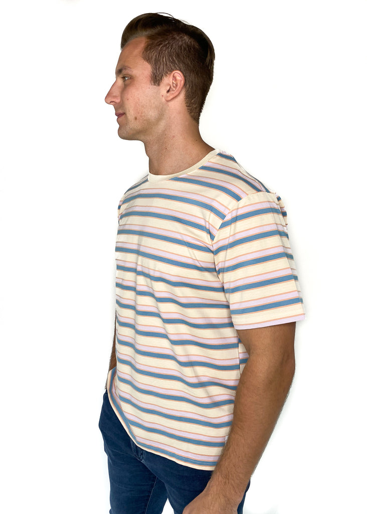NATIVE YOUTH | Ravintsara Pastel Stripe Top