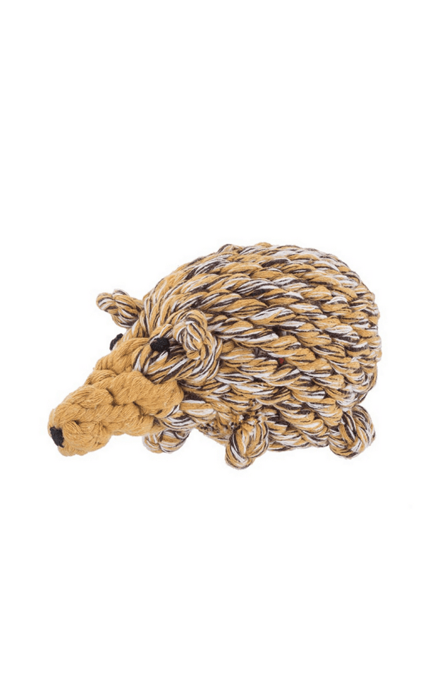 JAX & BONES | Hedgehog Rope Toy