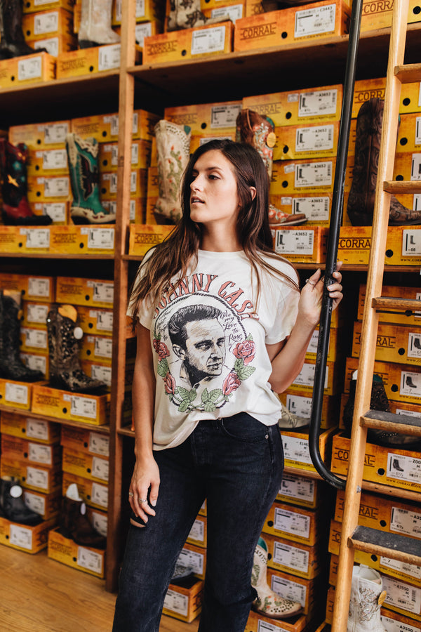 DAYDREAMER | Johnny Cash Love To Rose Tour Tee