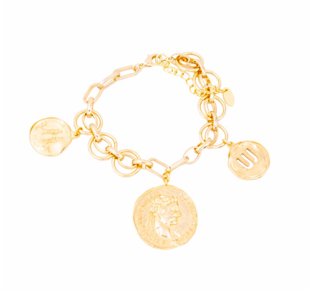 JONESY WOOD | Maria Theresa Medallion Bracelet