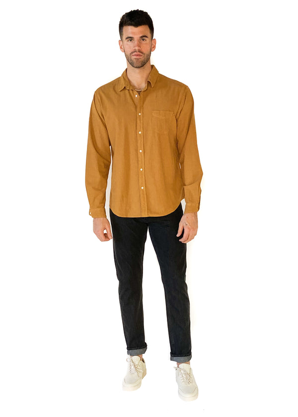 LIFE AFTER DENIM | Carnaby Shirt in Whiskey