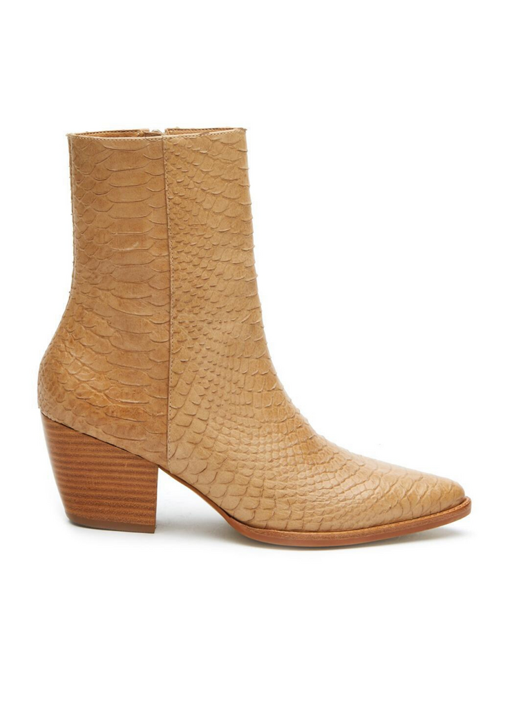 MATISSE | Caty Snake Boot in Tan