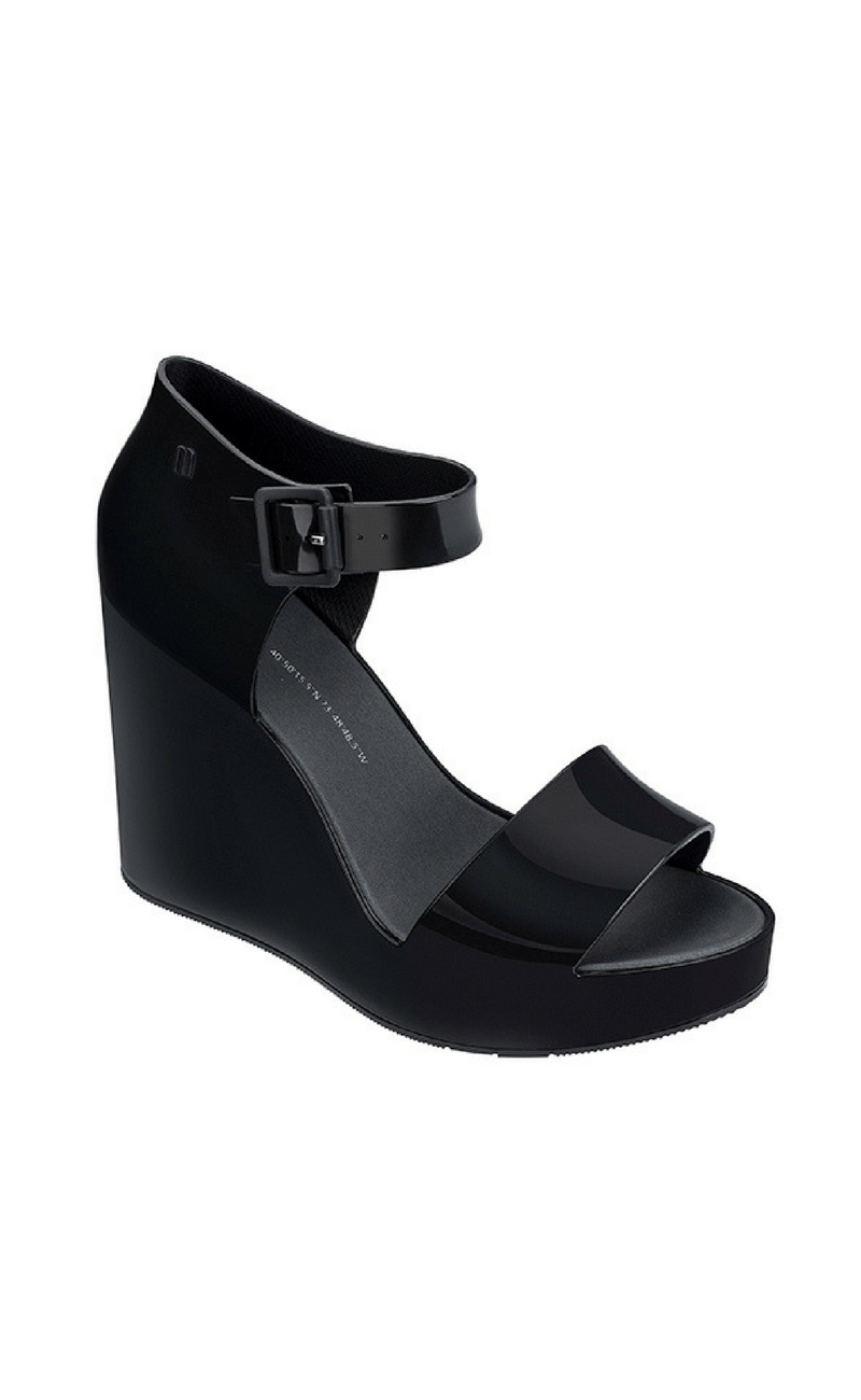 MELISSA | Mar Wedge in Black