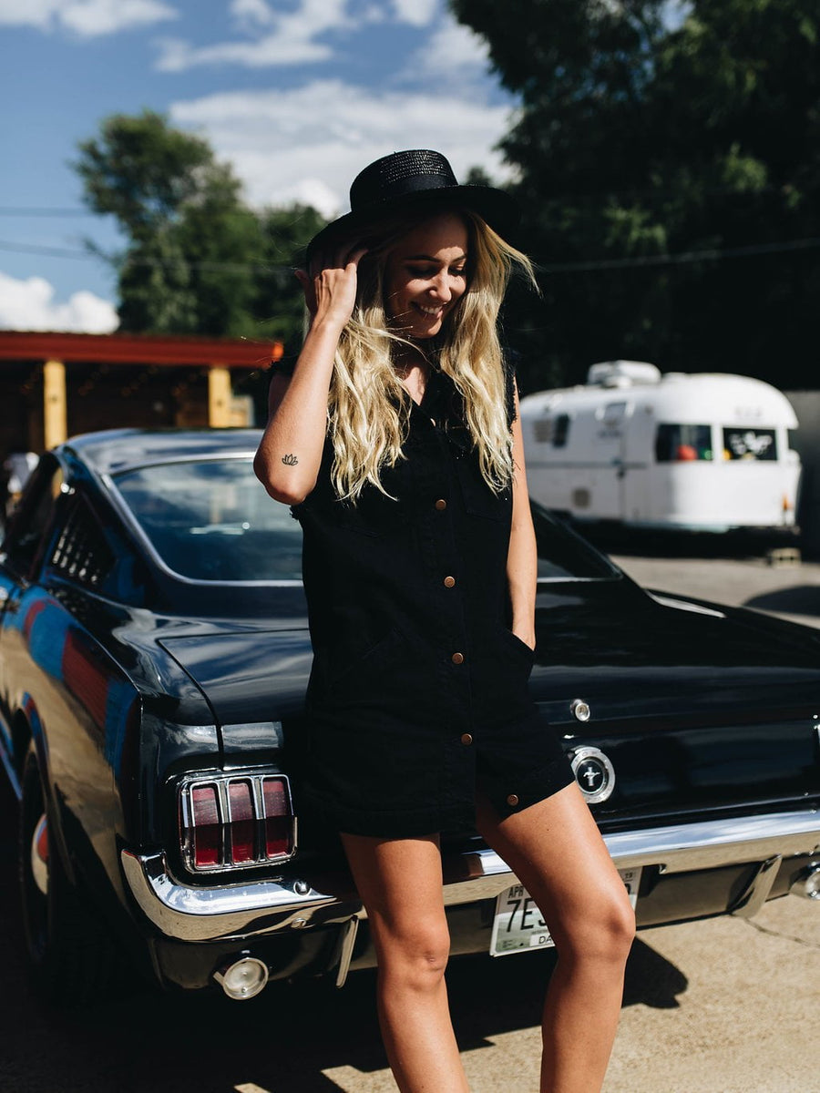WRANGLER | Black Denim Dress