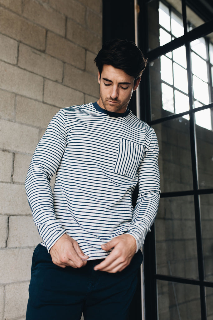 Native Youth | Striped Long Sleeve