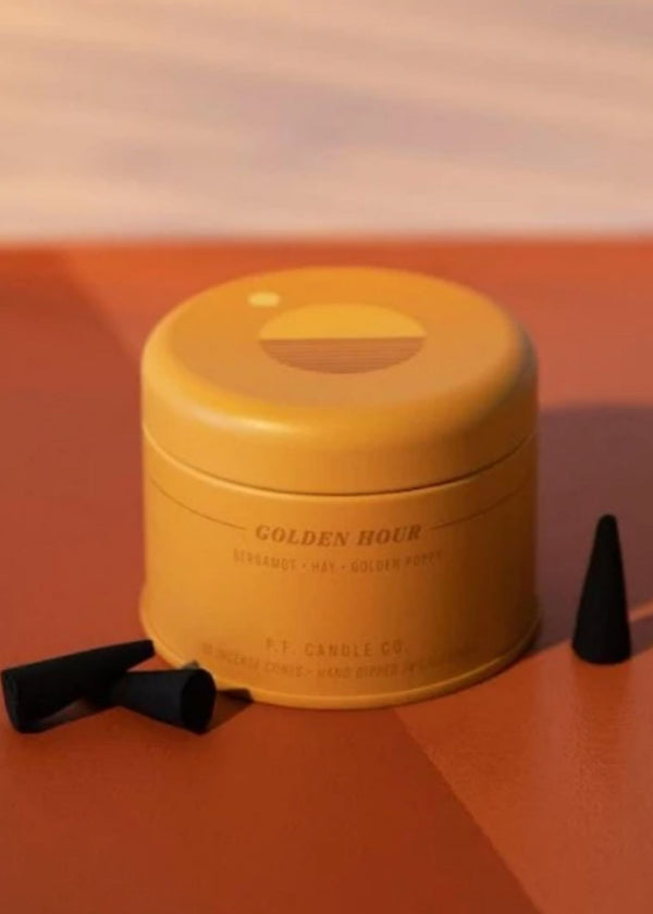 P.F. CANDLE CO. | Golden Hour Cone Incense