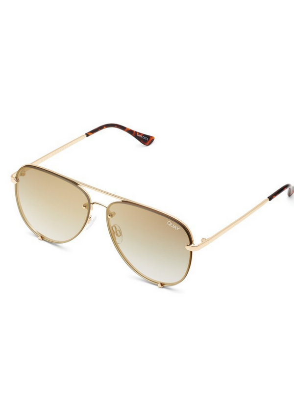 Copy of QUAY | High Key Rimless in Gold