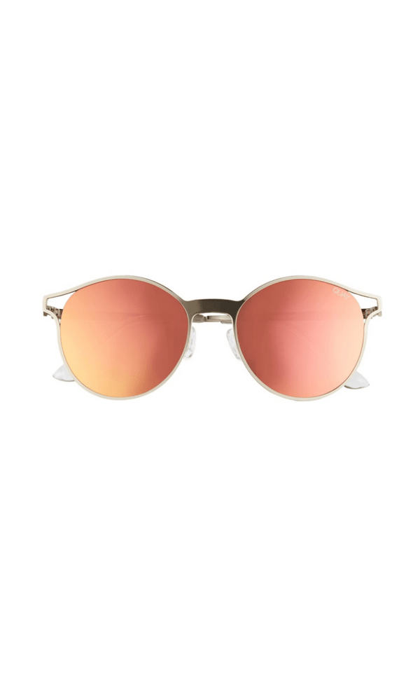 Quay Here We Are Sunglasses Rose Gold