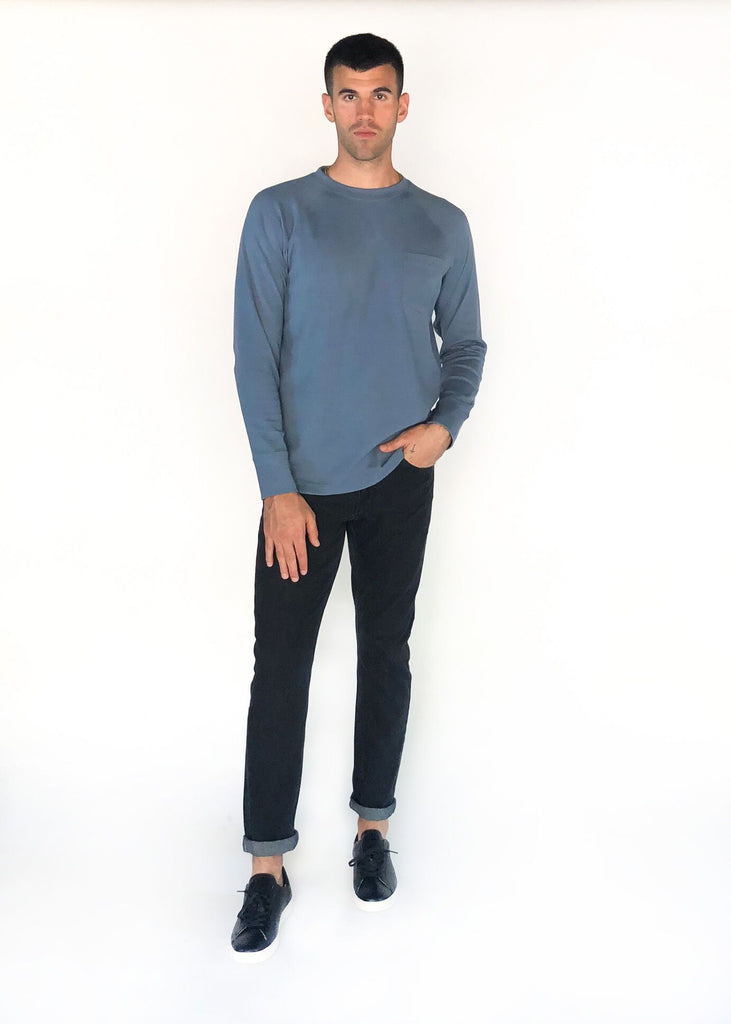 THE NORMAL BRAND | Light Blue Puremeso Crew