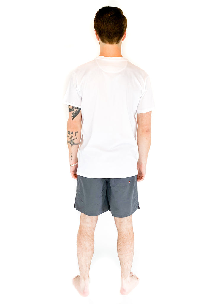 SATURDAYS NYC | White Brandon Pima Tee