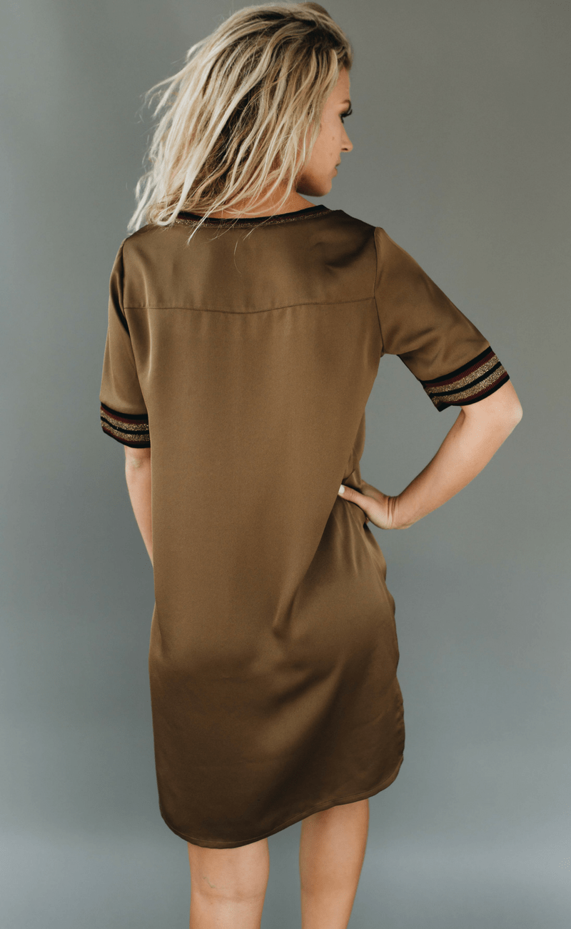 SCOTCH & SODA | Sporty V-neck Dress