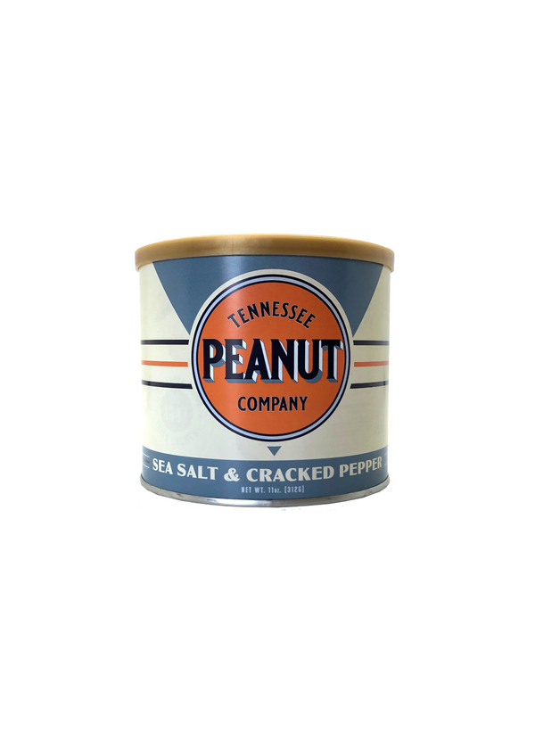 tennessee peanut co sea salt and cracked pepper