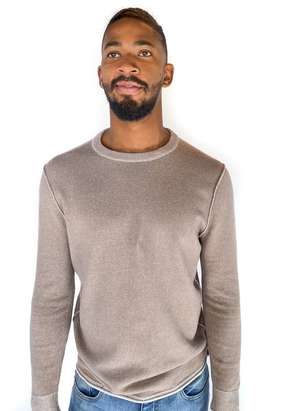 THE NORMAL BRAND | Jimmy Sweater Crew in Khaki