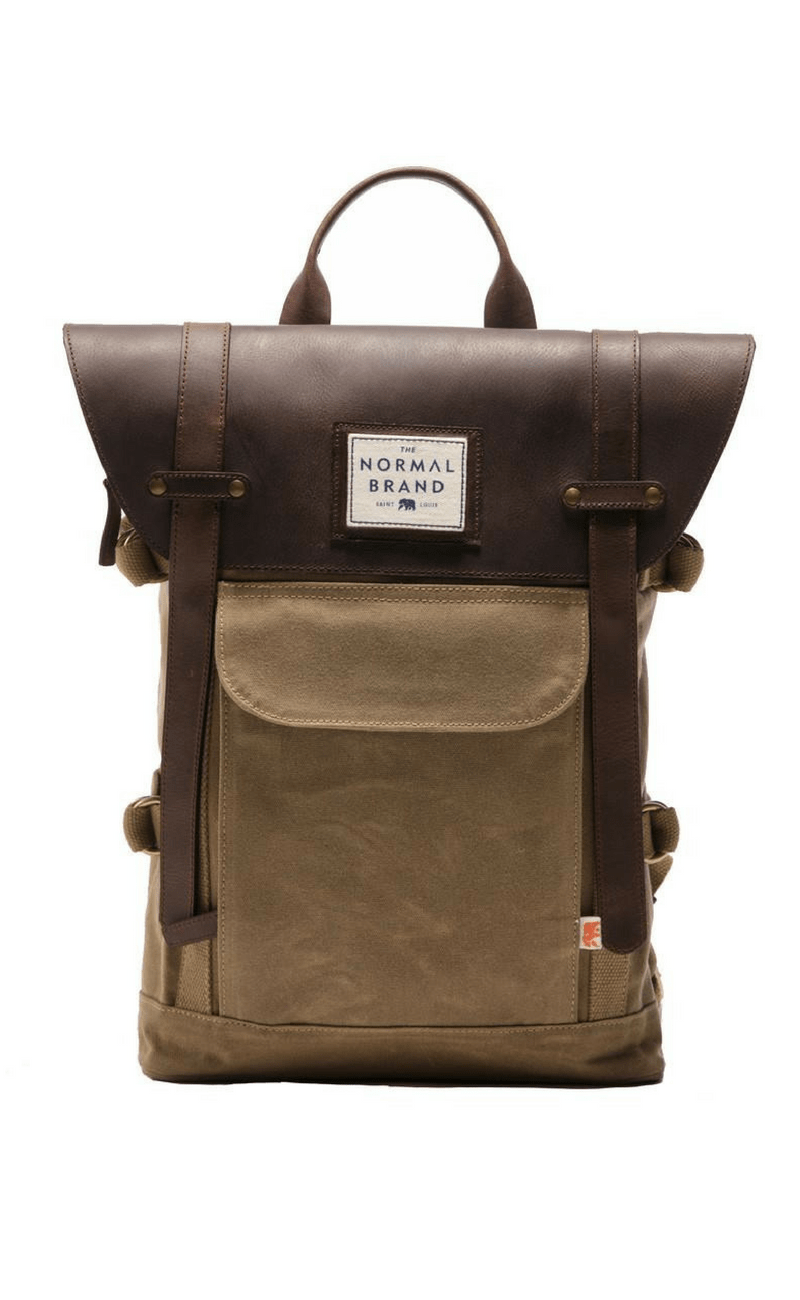 THE NORMAL BRAND | Top Side Backpack