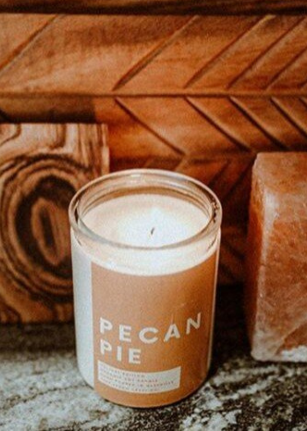 TUFF PEACH | Holiday Candle in Pecan Pie