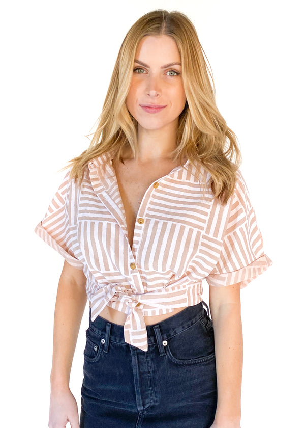 HARPER WREN | Ally Stripe Top