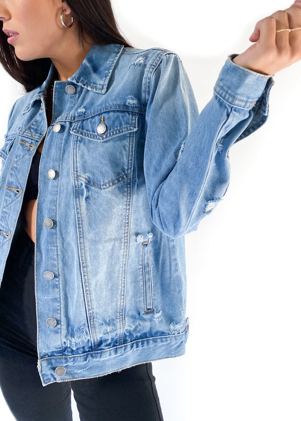 VELVET HEART | Margarita Denim Jacket