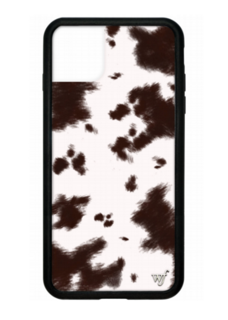 WILDFLOWER | Cowhide iPhone Case