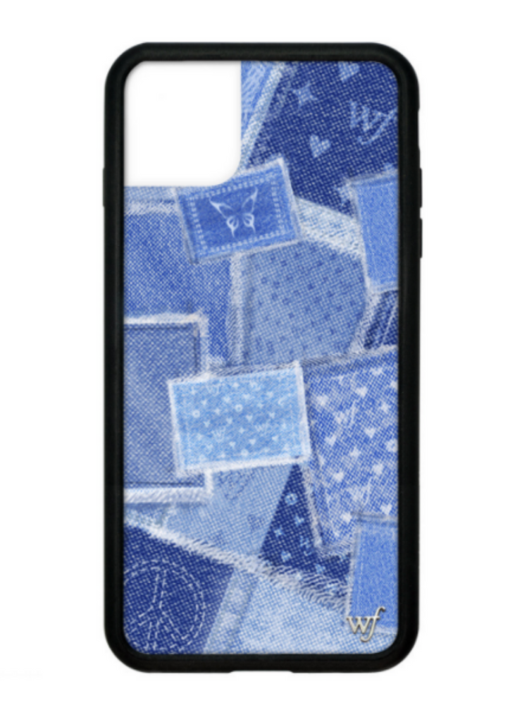 WILDFLOWER | Denim iPhone Case