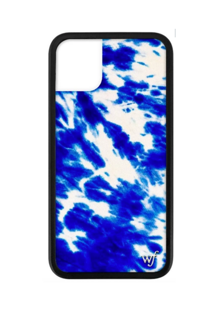 WILDFLOWER | Blue Tie-Dye iPhone Case