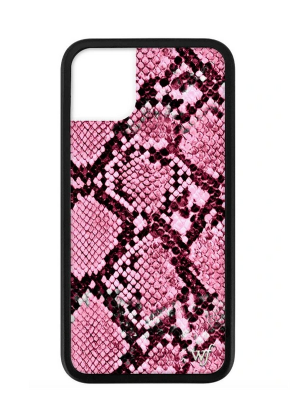 WILDFLOWER | Pink Snake iPhone Case
